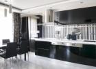 Kuchyně černá lak RAL 9005