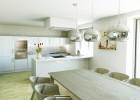 vizualizace kuchyňského koutu